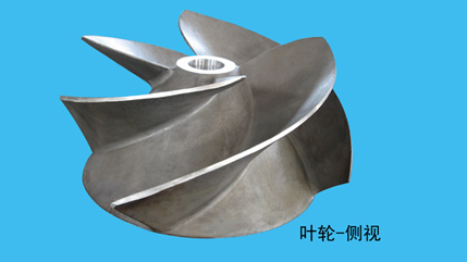 Impeller-Side-looking View
